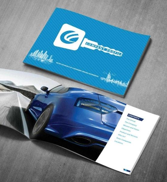corporate brochure design company profile and annual reports design
